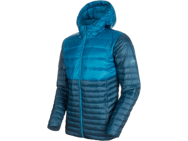 Mammut Convey Veste IN à capuche Homme, wing teal-sapphire